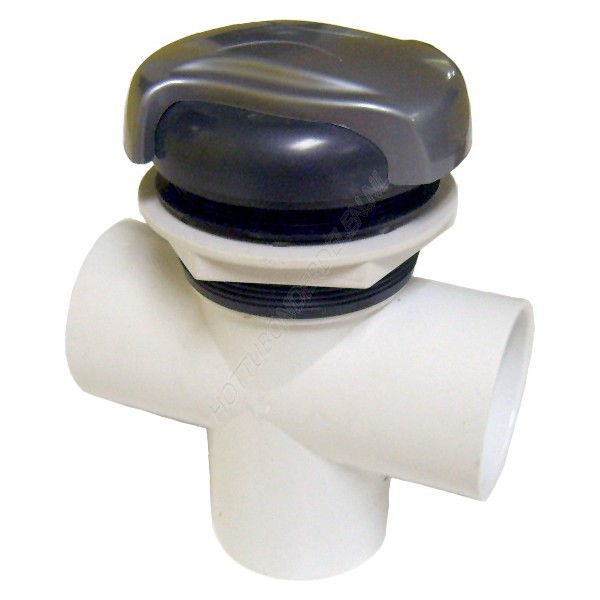 "Diverter Valve 3-way 2"" S – Wave handle CMP"