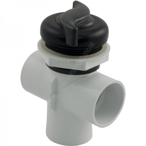 "Diverter Valve 3-way 2"" S – S handle Waterway"