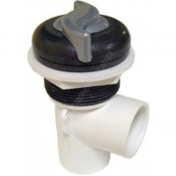 "Single Port 1"" S - On/Off Valve – S handle Waterway"