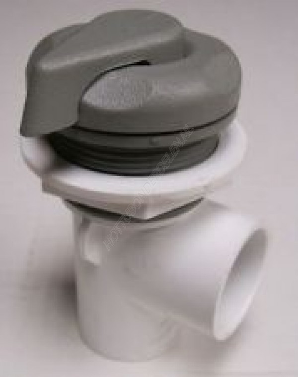 "Single Port 1"" S - On/Off Valve - Scallop Waterway"