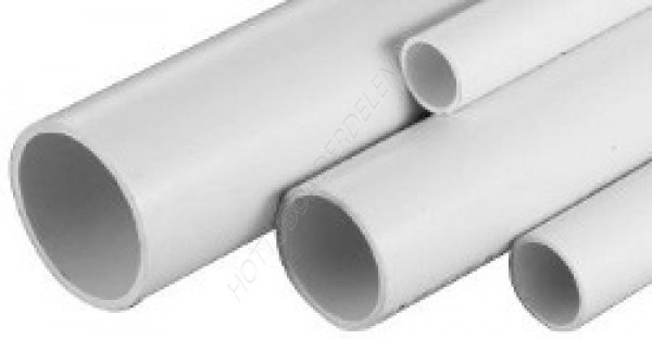 "Rigid PVC Pipe 2"" (per metre)"