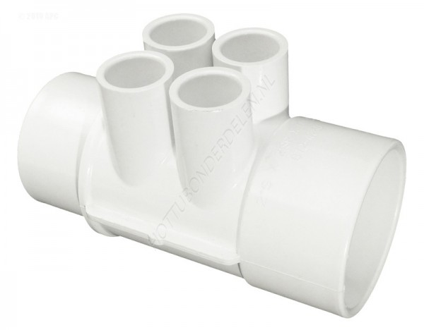 "Manifold 2"" SP x 2"" S x (4) 1/2"" S Waterway"