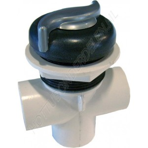 "Diverter Valve 3-way 1"" S – S handle CMP"