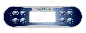 Overlay for Balboa ML700 Topside Keypad