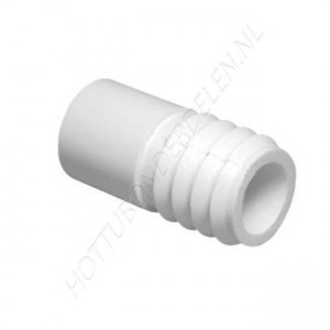 """Barb Adapter 1/2"""" SP x 3/4"""" RB Waterway"""