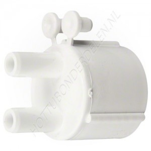 "Air Manifold 1"" S x (2) 3/8"" SB Waterway"