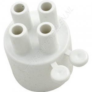 "Air Manifold 1"" S x (4) 3/8"" SB Waterway"