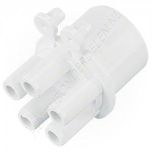 "Air Manifold 1"" SP x (5) 3/8"" SB Waterway"