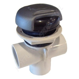 "Diverter Valve 3-way 1"" S – Wave handle CMP"