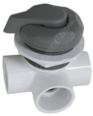 "Diverter Valve 3-way 1"" S – pointer handle Waterway"