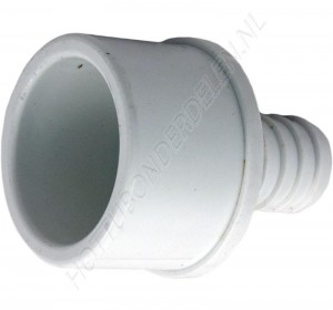 """Barb Adapter 2"""" SP x 3/4"""" RB Waterway"""