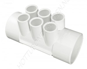 "Manifold 2"" S x 2"" S x (6) 1/2"" S Waterway"